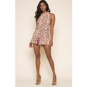 RAGA floral patterned romper